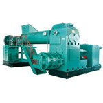 JK series double stage vacuum extruder